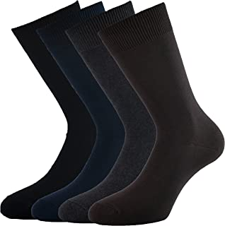 Fontana Calze, 12 paia di calze corte in caldo cotone elasticizzate, confortevoli e rinforzate su punta e tallone. Prodott...
