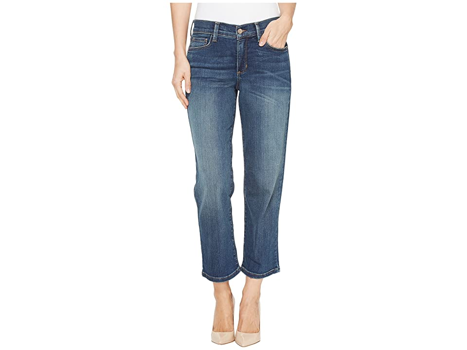 NYDJ Marilyn Relaxed Capris in Oak Hill (Oak Hill) Women's Jeans