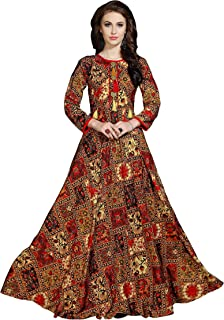 24dad6cfec Rayon Women's Ethnic Gowns: Buy Rayon Women's Ethnic Gowns online at ...