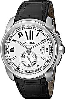 Cartier Mens W7100037 De Cartier Leather Strap Watch