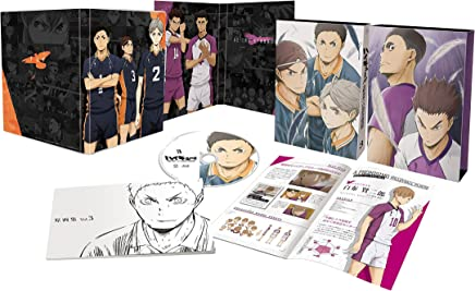 ハイキュー!! 烏野高校 VS 白鳥沢学園高校 Vol.3(初回生産限定版) [DVD]