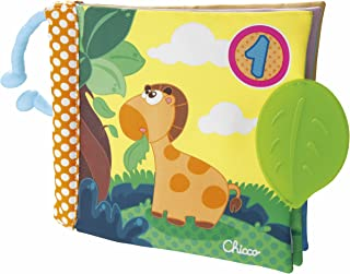 Chicco-00072376000000 Big & Small Juego Libro 1-2-3,