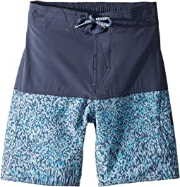 Vibes Elastic Boardshorts (Little Kids/Big Kids)