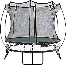 compact springfree trampoline