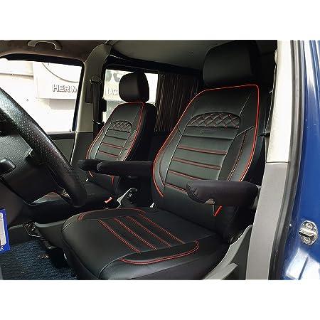 Maß Sitzbezüge Kompatibel Mit Vw T5 T6 Caravelle Transporter Fahrer Beifahrer Ab Bj 2003 Farbnummer 909 Baby