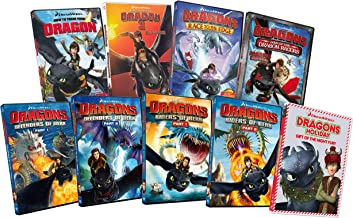 How To Train Your Dragon 1 & 2 / Dragons Defender Of Berk: Part 1 & 2 / Dragons Riders Of Berk: Park 1 & 2 / Dragons Dawn Of The Dragon Racers / Dragons Race To The Edge / Dragons Holiday