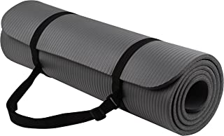Best BalanceFrom GoYoga All-Purpose 1/2-Inch Extra Thick High Density Anti-Tear Exercise Yoga Mat with Carrying Strap Reviews