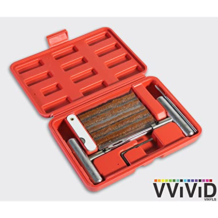 Vvivid Kit De Parches De Neumáticos Planos Para Pinchazos Ideal Para Coches Camiones Motocicletas Atv Automotive