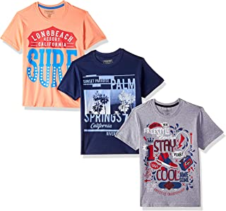 bdd906ff Cherokee by Unlimited Boys' Plain Regular Fit T-Shirt (Pack of ...