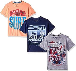 a0228ef8e1de Cherokee by Unlimited Boys' Plain Regular Fit T-Shirt (Pack of ...