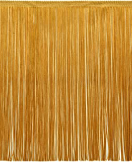 DÉCOPRO 12 Inch Chainette Fringe Trim, Style# CF12 Color: Gold - C4, Sold by The Yard