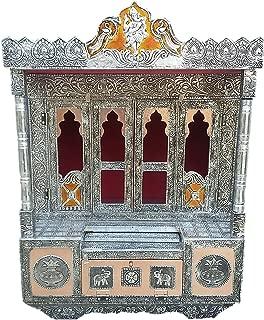 Dinesh Handicraft Oxidised Ghar Pooja Mandir