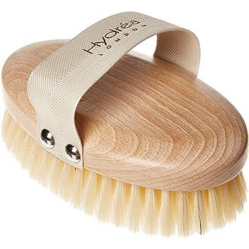 Hydrea Professional FSC Beechwood Body Brush with Natural Bristles (Medium Strength)
