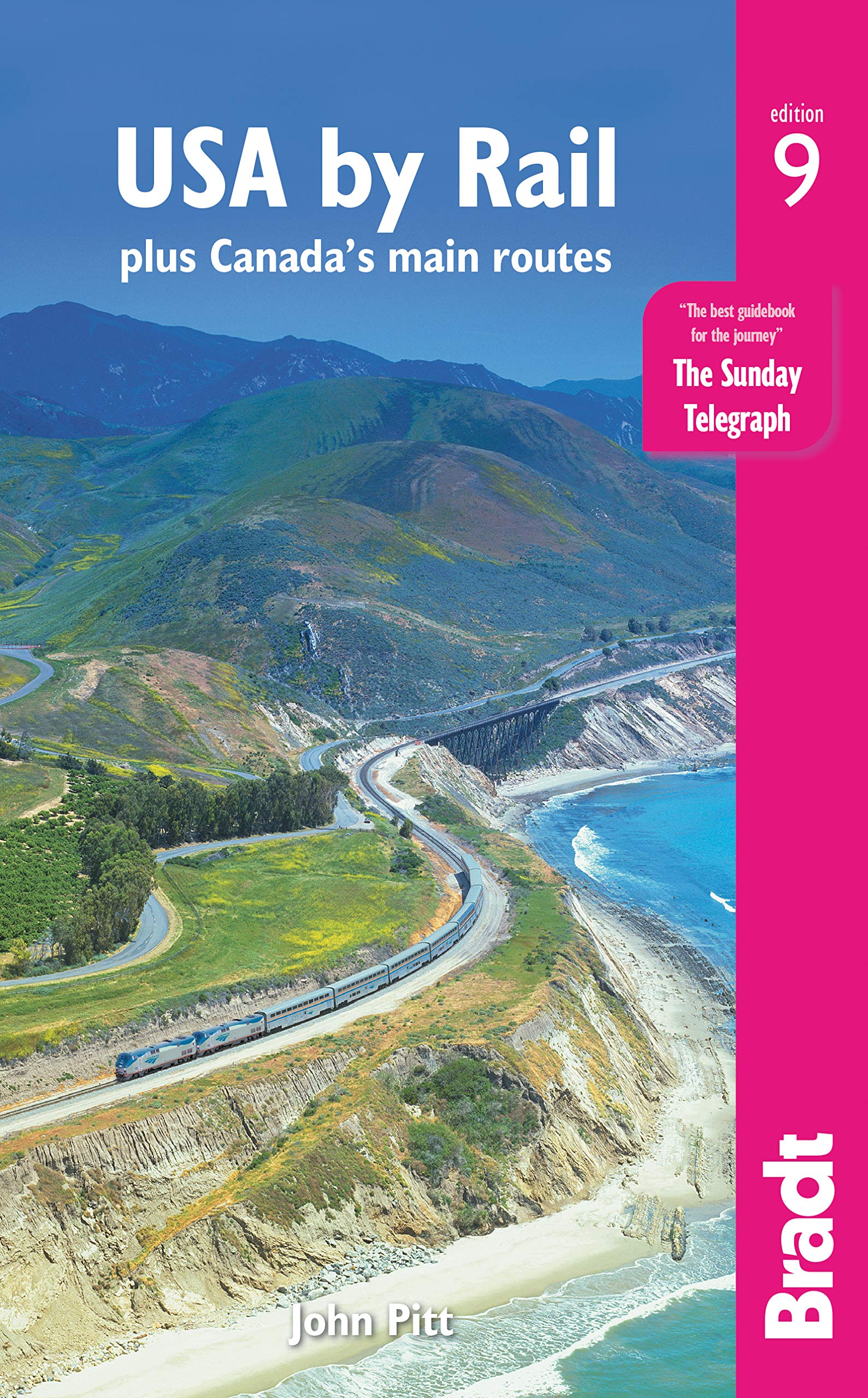 Image OfUSA By Rail: Plus Canada's Main Routes (Bradt Travel Guide)