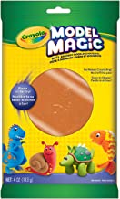 Crayola Model Magic, Terra Cotta, 4 Ounce No-Mess, Soft, Squishy, Lightweight Modeling Material For Kids 4 & Up, Easy to Paint and Decorate, Air Dries Smooth - 57-4464