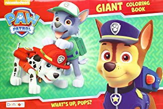 Paw Patrol 'What's Up, Pups?' Giant Coloring and Activity Book