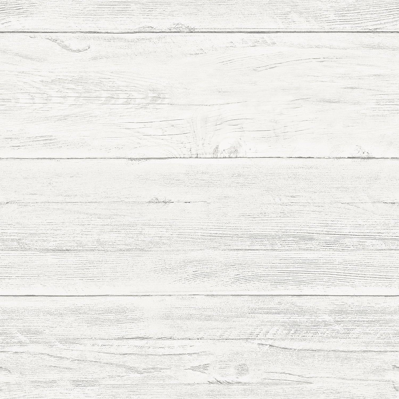 Phoenix Mall NuWallpaper Nashville-Davidson Mall Shiplap Peel Off-White Wallpaper Stick