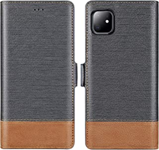 iPhone 11 Wallet Case,FLYEE iPhone 11 case Flip Shockproof Protective Folding Cover PU Leather Magnetic with Credit Card Slots and Cash Pocket for Men Fit Apple iPhone 11 6.1 inch [Gray]