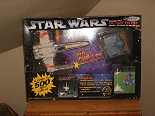 Star Wars Estes Complete Ready to Fly Model Rocket Starter Set X Wing and Tie Fighter