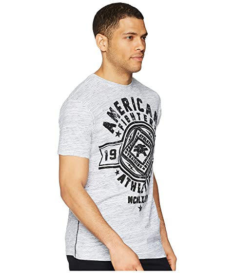 American Fighter Chestnut Hill Short Sleeve Tee Black/White Marble Cheap Sale Great Deals Cheap Real New Arrival Sale Online Cheap Sale Supply Quality From UK Cheap 0uSQlsz