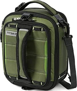 Arctic Zone 61-54087-15-19 Titan X Dual Compartment Insulated Expandable Lunch Pack, Olive, 8.5