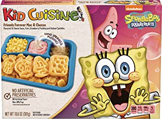 KID CUISINE Friends Forever Macaroni & Cheese Frozen Meal With Corn & Pudding, 10.6 oz.