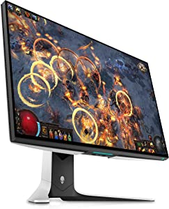 Alienware 27 Gaming Monitor - AW2721D (Latest Model) - 240Hz, 27-inch QHD, Fast IPS Monitor with VESA DisplayHDR 600, NVIDIA G-SYNC Ultimate Certification and IPS Nano Color Technology (Renewed)