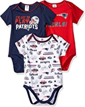 1 piece suits NEW ENGLAND PATRIOTS 3 pack CREEPER SET SIZE CHOICE