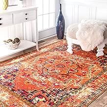 nuLOOM Mackenzie Vintage Area Rug, 3' x 5', Orange