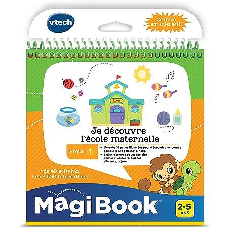 VTech- MagiBook, 480805 - Version FR