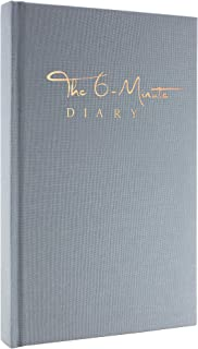 $22 » The 6-Minute Diary (Sky Blue)   6 Minutes a Day for More Mindfulness, Happiness and Productivity   A Simple and Effective Gratitude Journal and Undated Guided Journal   The Perfect Gift