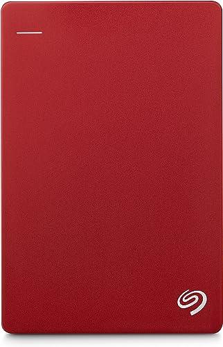 Seagate Backup Plus Portable Drive, 1TB, RED (STDR1000303)