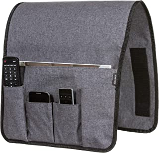 Anti Slip Couch Caddy Holds 10lbs w/Hook & Loop Fastener, works where others don't, easily holds up to 12