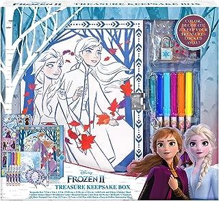 Frozen 2 Keepsake Box Craft Kit for Storage Activity Set for Kids