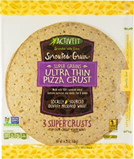 Golden Home Ultra Thin Pizza Crust 12 Inch Sprouted Grain, 14.25 Ounce