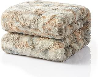 Best large faux fur blanket Reviews
