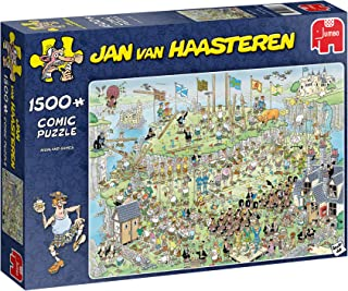 Jan Van Haasteren Highland Games Jigsaw Puzzle (1500 Pieces)