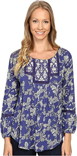 Lucky Brand - Floral Bib Top
