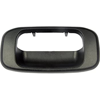 Replaces# 15997911 for 1999-2007 Chevy Silverado GMC Sierra 1500 2500 3500 Tailgate Handle Latch and Bezel Trim with Rod Clips 15228539 15228541 15228540