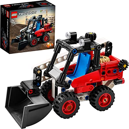 LEGO Technic Bulldozer e Bolide, Set Macchinine 2 in 1, Giocattoli da Costruzione, 42116