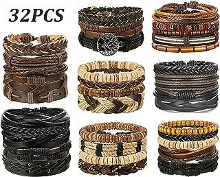 SHEERLKK Bracelets Medusa Head Weave Men Bracelet Hip Hop Punk Jewellery