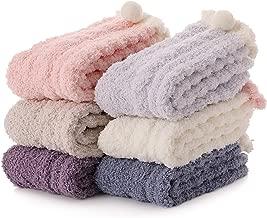 Womens Fuzzy Slipper Socks Soft Cabin Warm Cute Cozy Fluffy Winter Christmas Slipper Socks