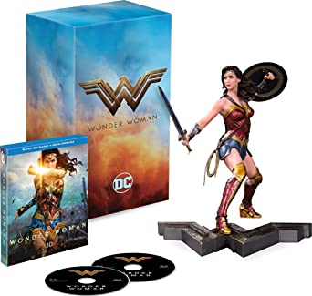 Wonder Woman [Blu-ray 3D + Blu-ray + Limited Edition Statue]