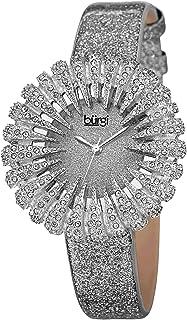 Burgi Women's Luxury Analogue Display Quartz Watch with Polyurethane Strap