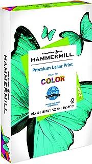 Hammermill Paper, Premium Laser Print Paper, 8.5 x 14 Paper, Legal Size, 24lb Paper, 98 Bright, 1 Ream / 500 Sheets (104620R) Acid Free Paper