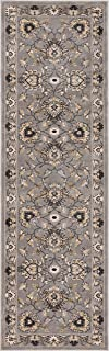 Well Woven Timeless Abbasi Traditional Persian Oriental Grey Rug 2'7