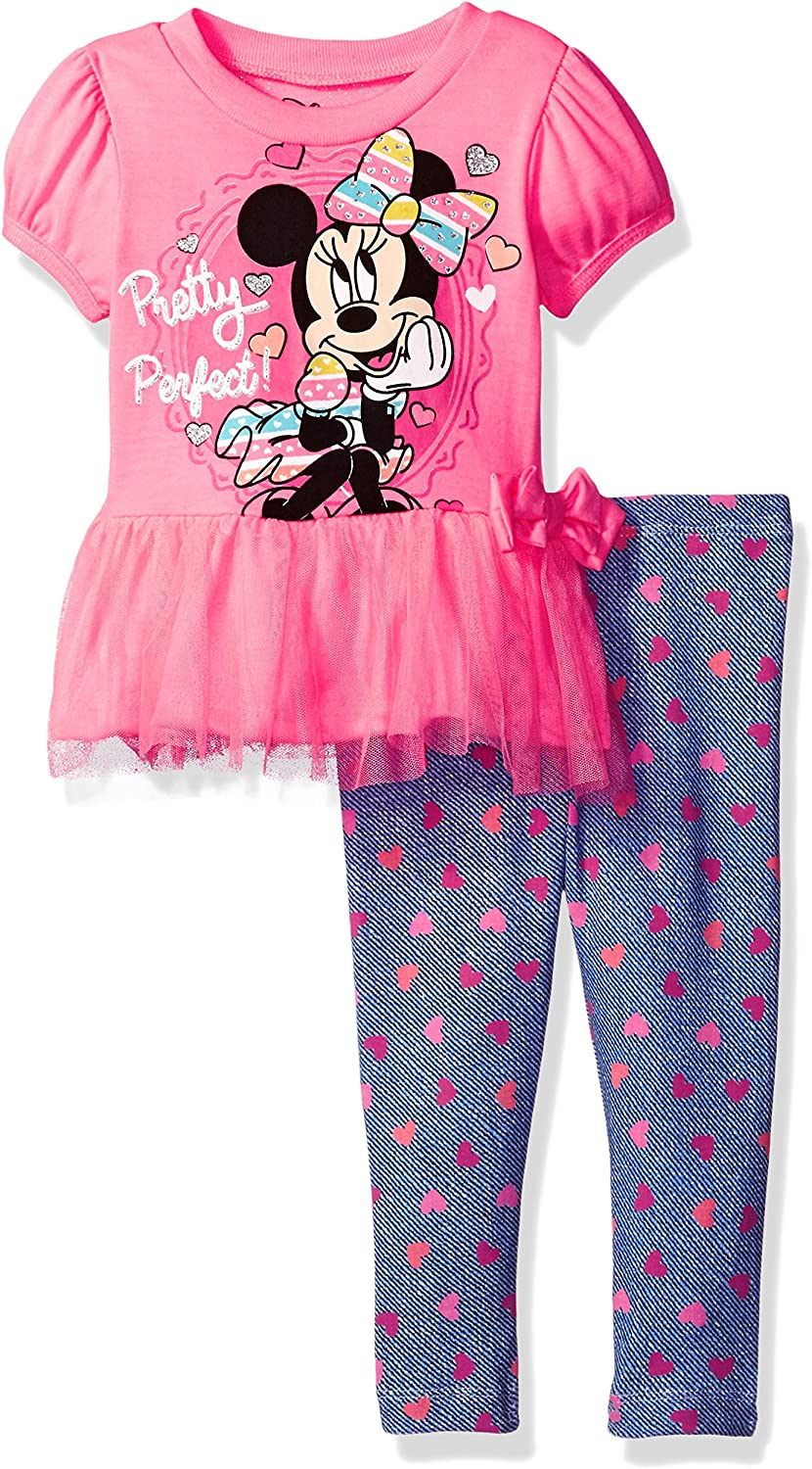 Minnie Mouse Fashion Top for Toddler Girls