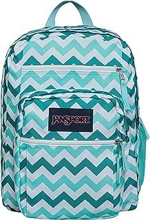 JanSport Big Student Classics Series Backpack - Aqua Dash Zuo Bisou