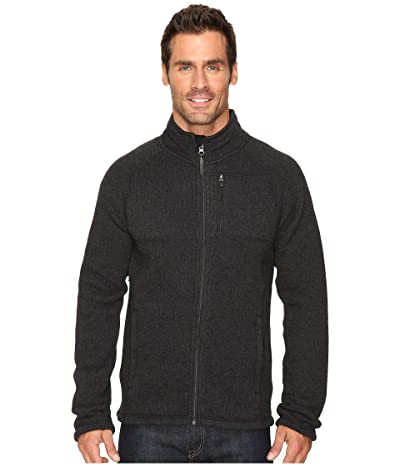 Smartwool Echo Lake Full Zip Top (Charcoal Heather) Men