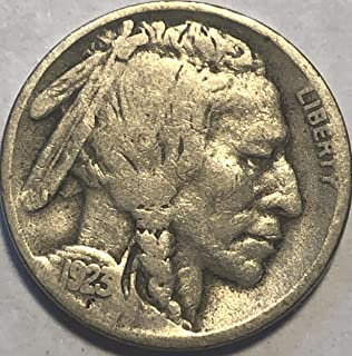 1923 S Buffalo Nickel Almost Good to Good Condition AG-G